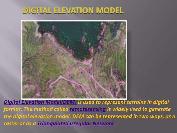 Digital Elevation Model