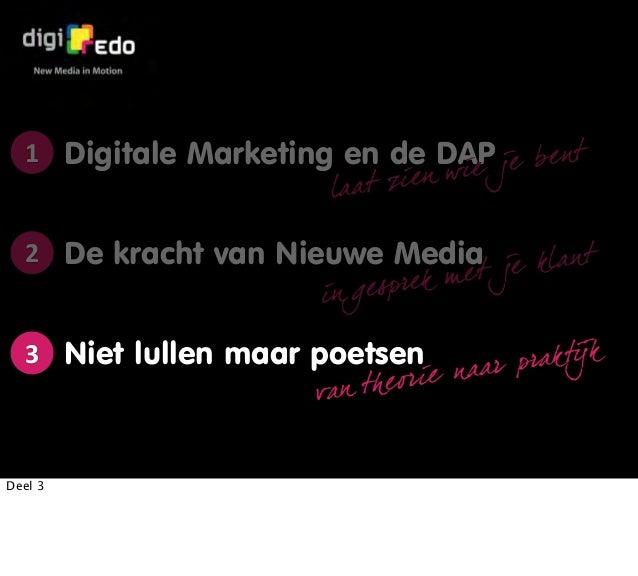 Digitale Marketing voor dierenartsen Deel 3 - Niet lullen maar poetsen