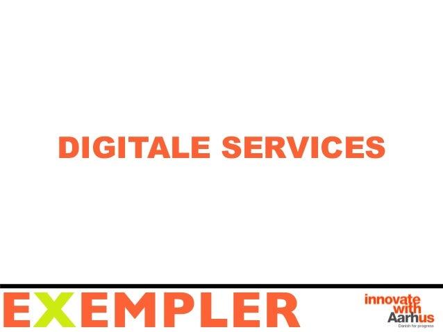 DIGITALE SERVICESEXEMPLER