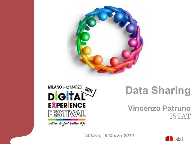 Digital Experience Festival - Data Sharing