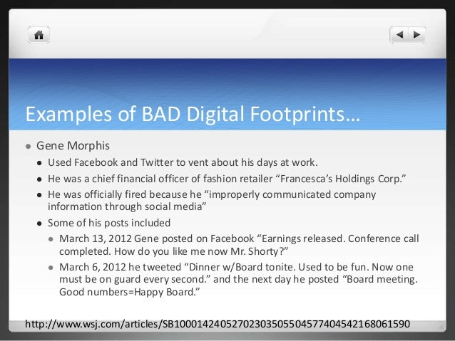 how to clear your digital footprint