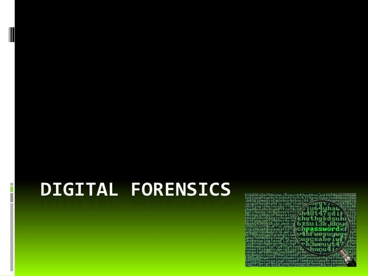 What To Know About Digital Forensics