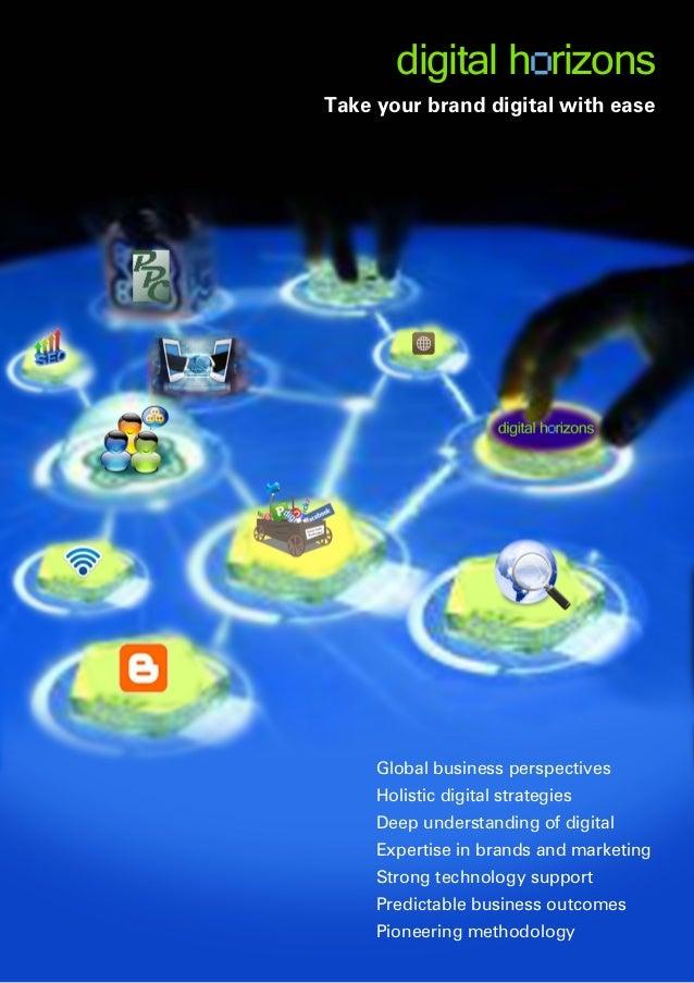 Digital horizonsunifieddigitalmarketingbrochure