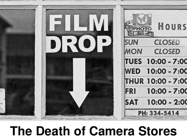 The Death of Camera Stores