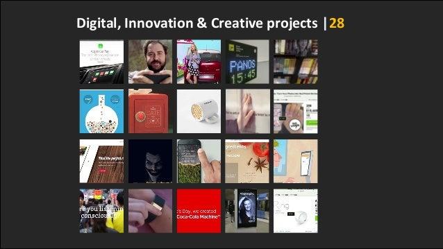 Digital, Innovation & Creative projects |28