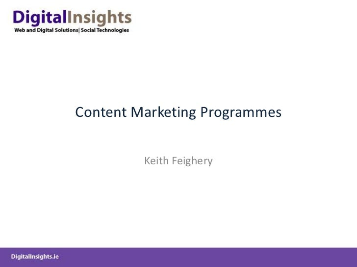 GriffithCollege-ContentMarketingOverview