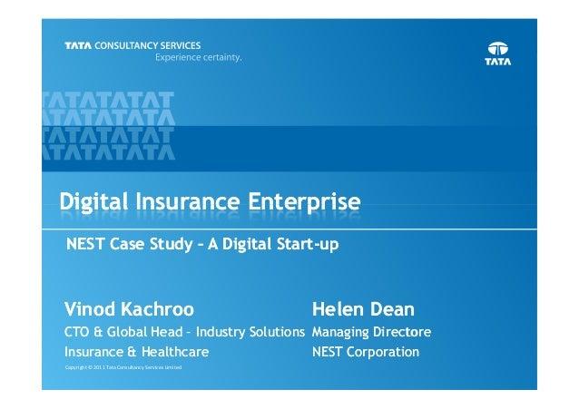 Digital Insurance Enterprise: The Nest Case Study