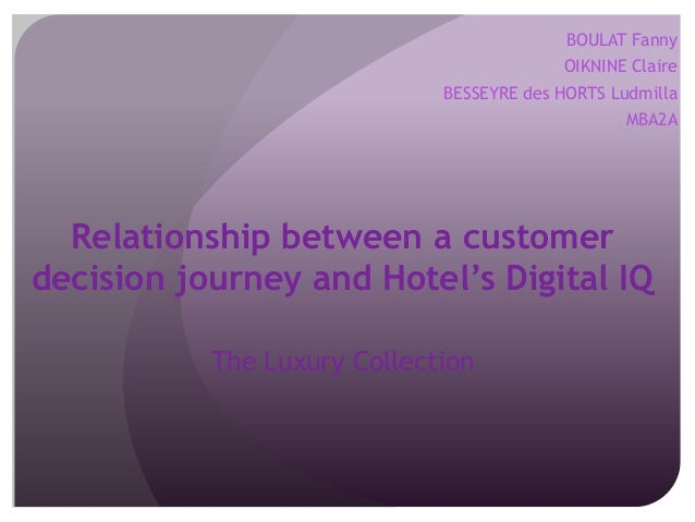 Customer Journey with Digital IQ in The Luxury Collection group