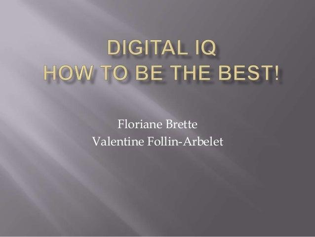 Floriane BretteValentine Follin-Arbelet