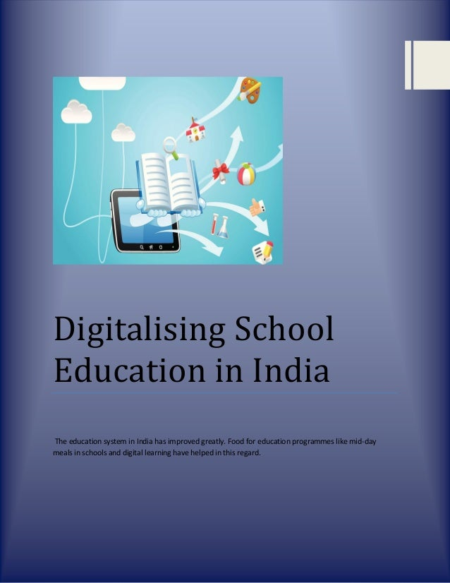 school education in india essay