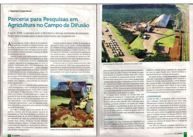 Coopershow - Revista O Campo