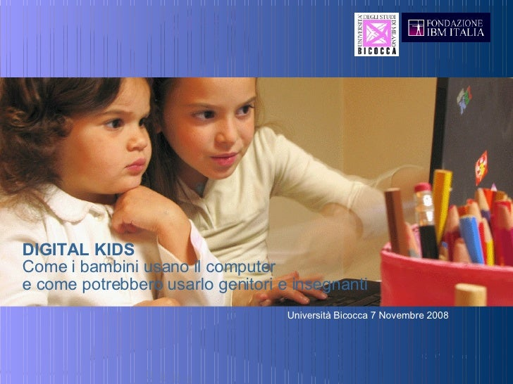 Digital Kids 7 November