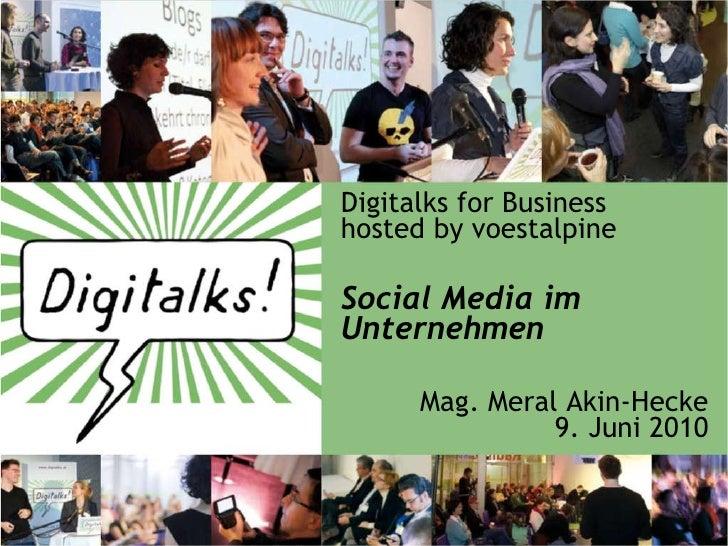 Social Media im Unternehmenseinsatz