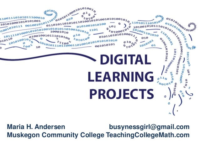 Digital learning projects amatyc