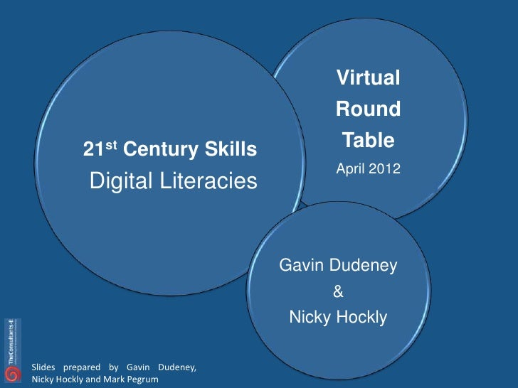 Virtual                                          Round          21st Century Skills             Table                     ...
