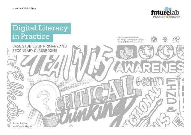 Digital literacy in practise