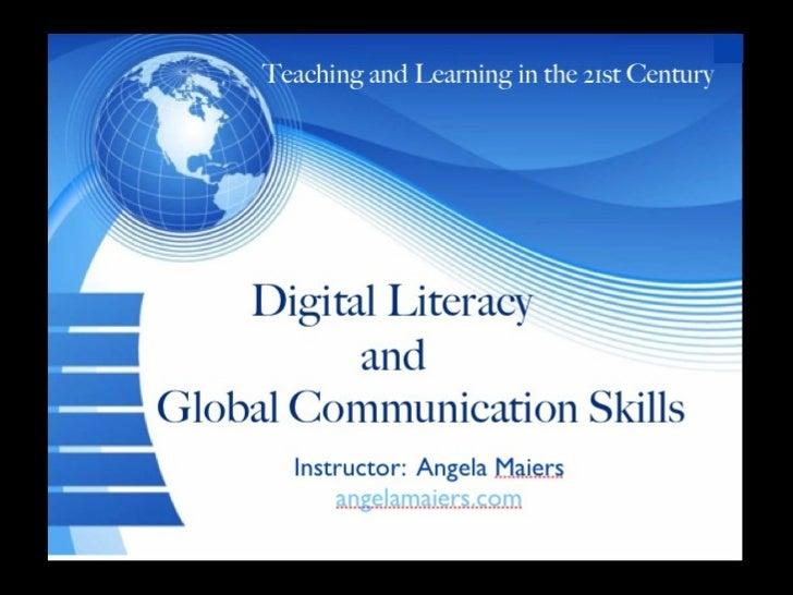 Digital Literacy Course - Module One