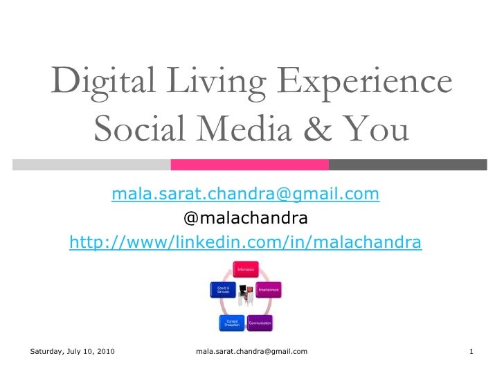 Digital living experience  session 3