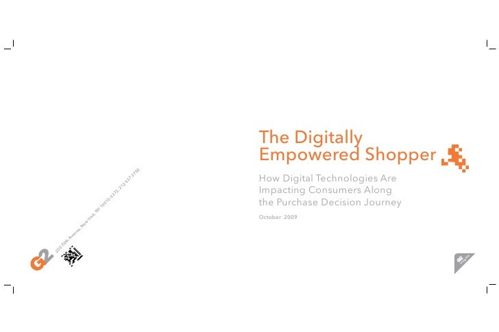 Digitally Empowered Shopper