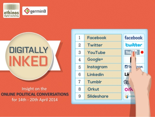 Digitally inked - 14th to 20th April 2014 - #Elections2014