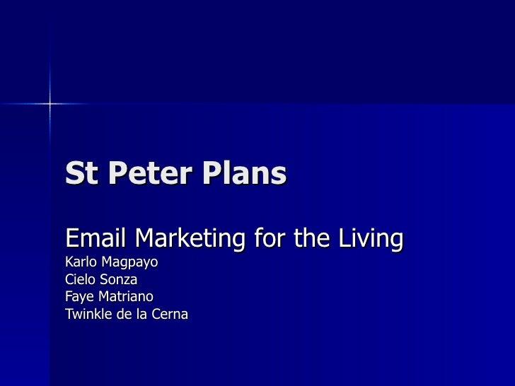 Digital Marketing   St Peters Plans