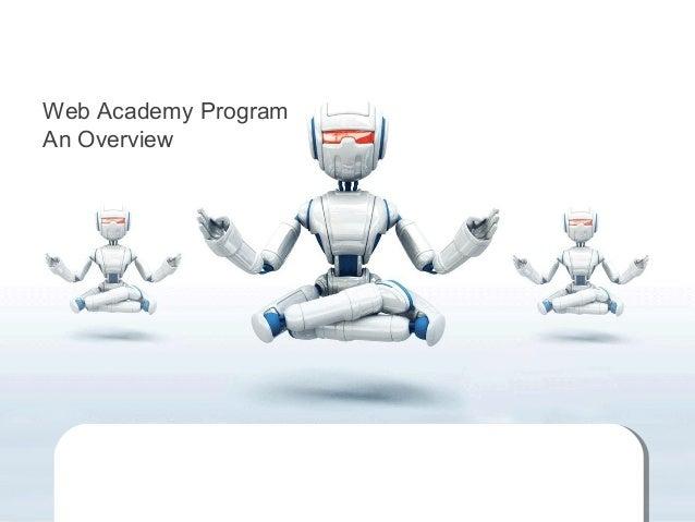 Web Academy Program An Overview