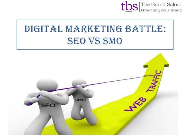 Digital marketing battle: SEO VS SMO