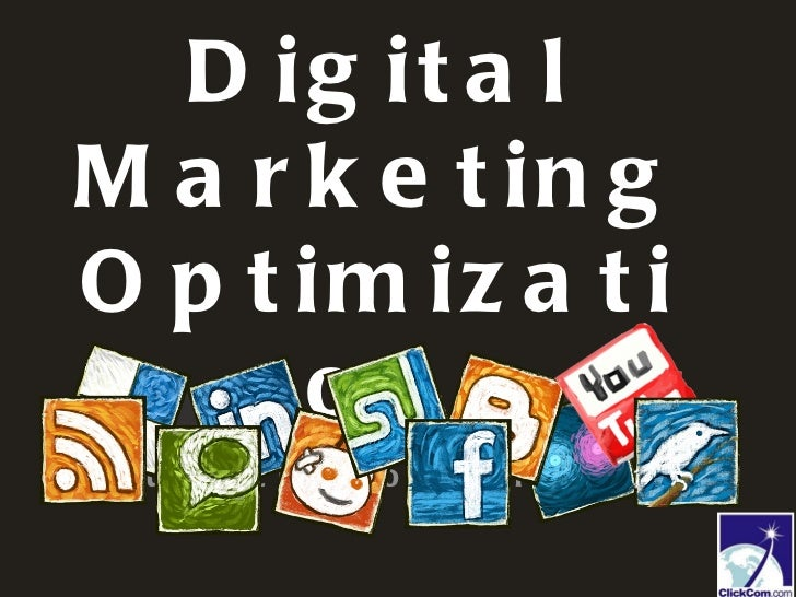 Digital Marketing Optimization Double-click to enter subtitle