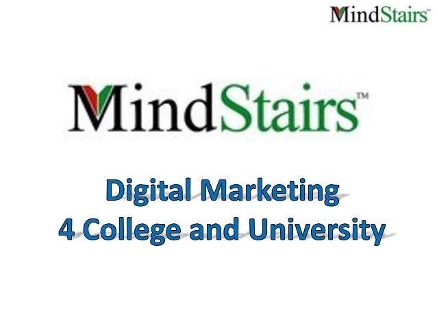 Digital marketing for college & university