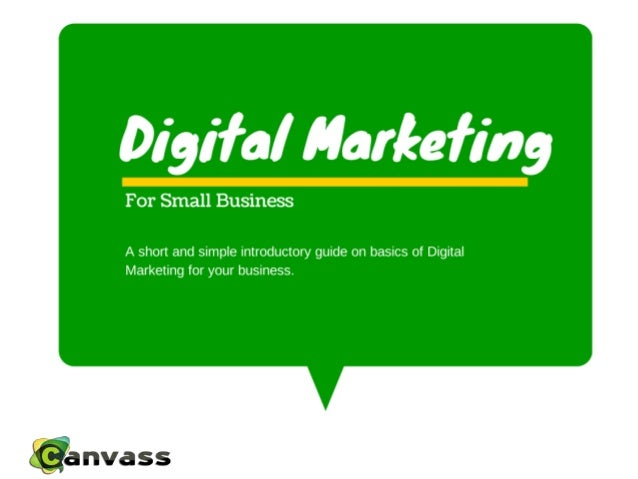 Table Of Contents • Digital Marketing Definition……………………………………………………………………………..3 • Small Businesses Are Adopting Ecommerce...