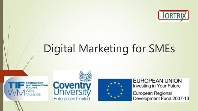 Digital Marketing for SMEs (5th August)