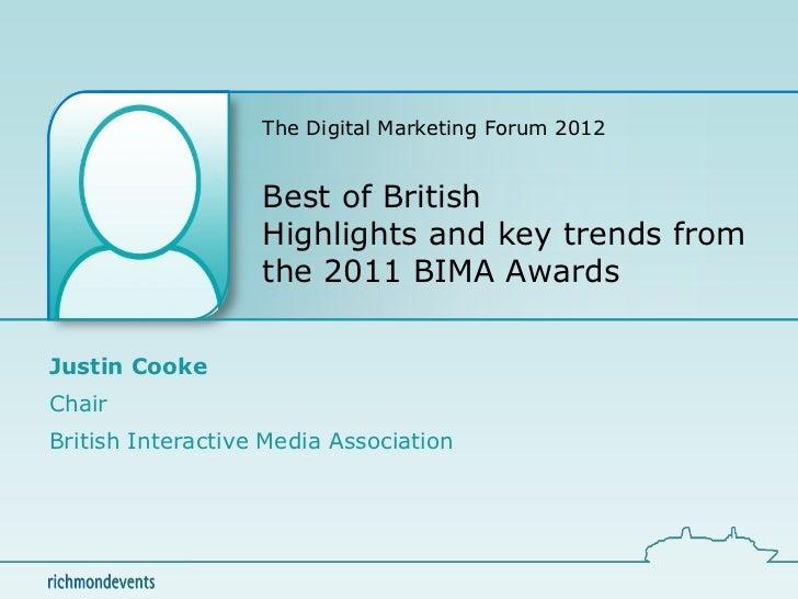 Best of British at Digital Marketing Forum