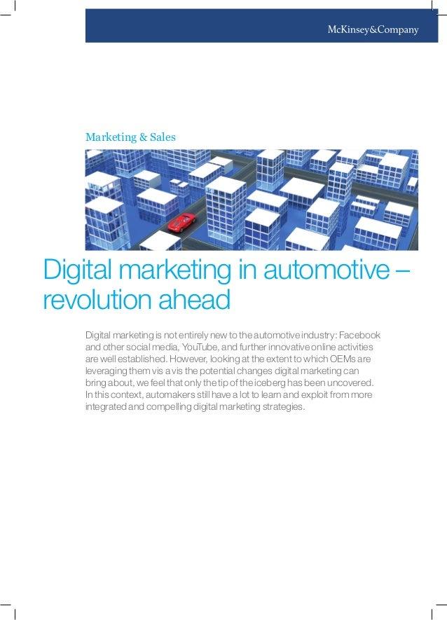 Digital Marketing in Automotive