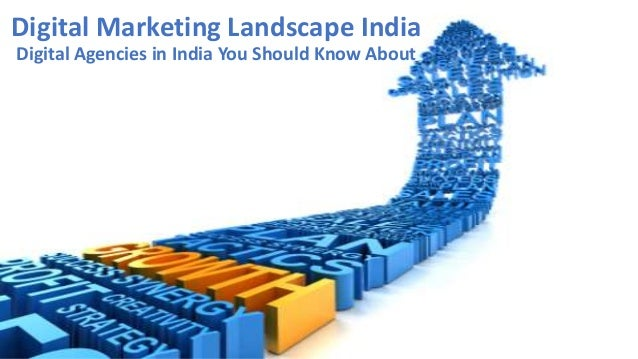 Digital marketing landscape india