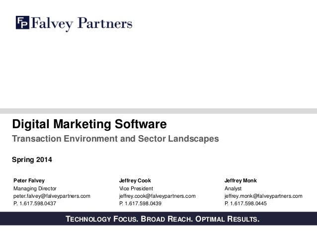 Digital Marketing Software Overview