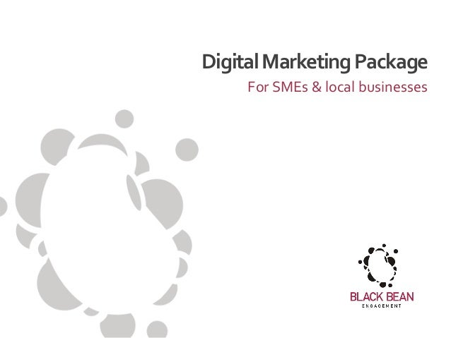 Digital Marketing Package For SMEs & local businesses