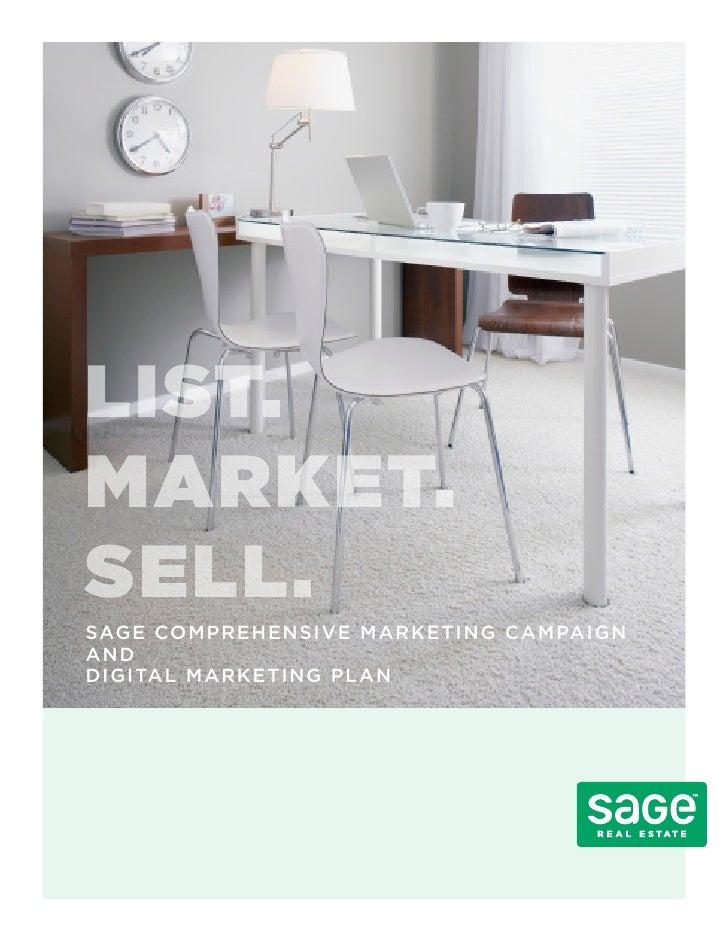Sage Digital Marketing Plan
