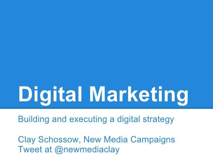 Building a Digital Strategy Presentation for UNC School of Journalism
