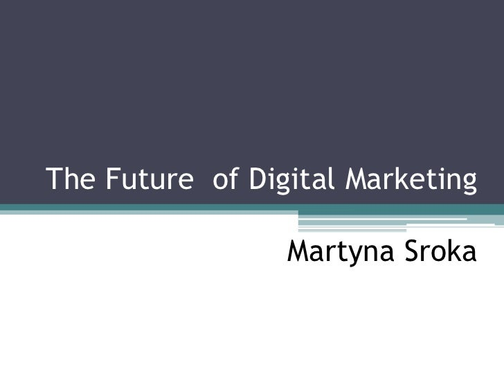 Digital marketing 2012-2015