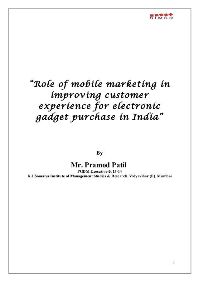 mobile marketing thesis pdf