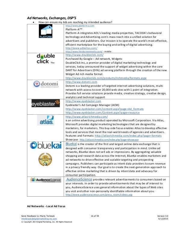 Digital Marketing Resources v2