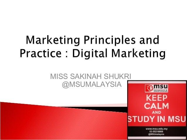 MISS SAKINAH SHUKRI @MSUMALAYSIA