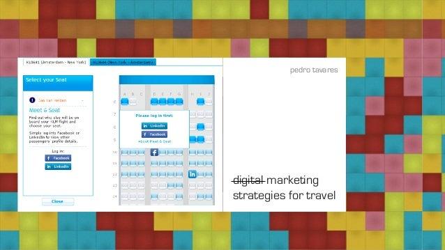 digital marketing strategies for travel pedro tavares