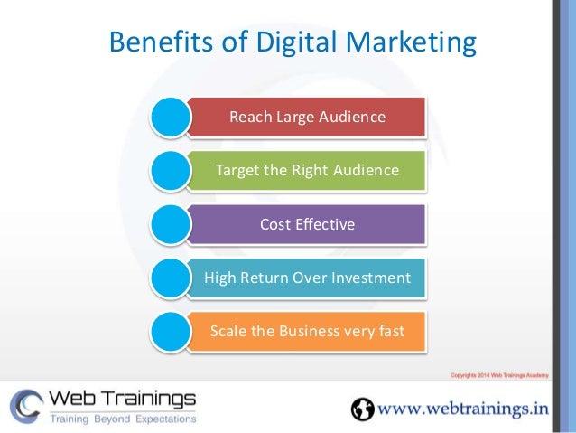 benefits of effective training