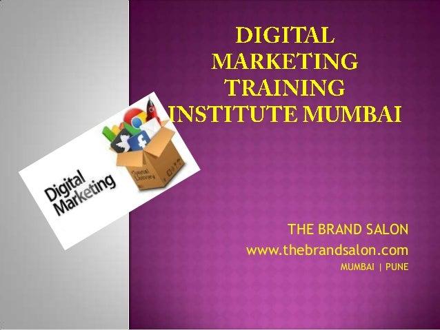 Digital marketing training institute mumbai