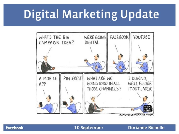 Digital Marketing Update         10 September       Dorianne Richelle