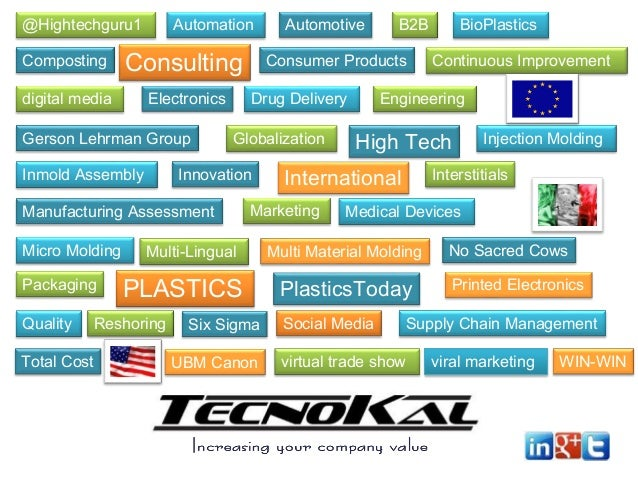 @Hightechguru1  Automation  Composting  Consulting  digital media  Electronics  Gerson Lehrman Group Inmold Assembly  Pack...