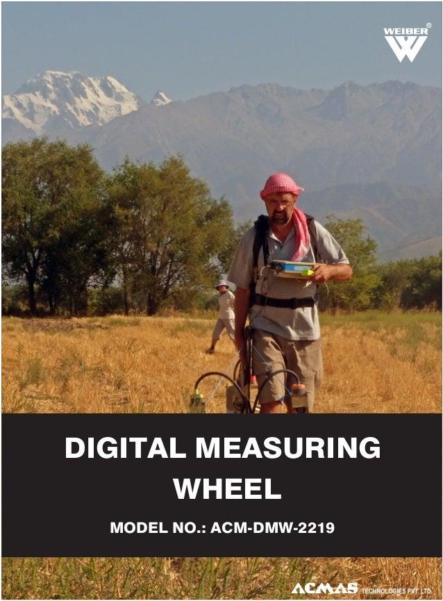 Digital Measuring Wheel by ACMAS Technologies Pvt Ltd.