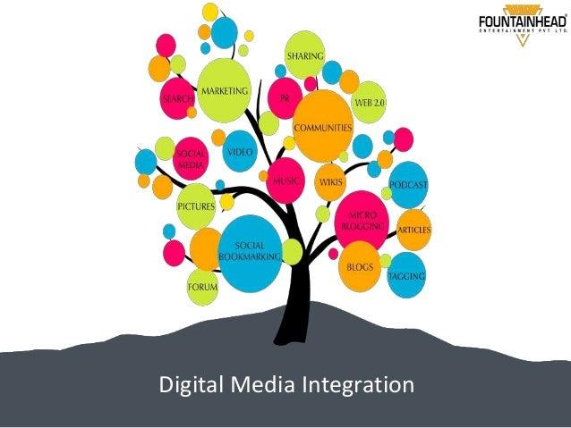 Digital media integration