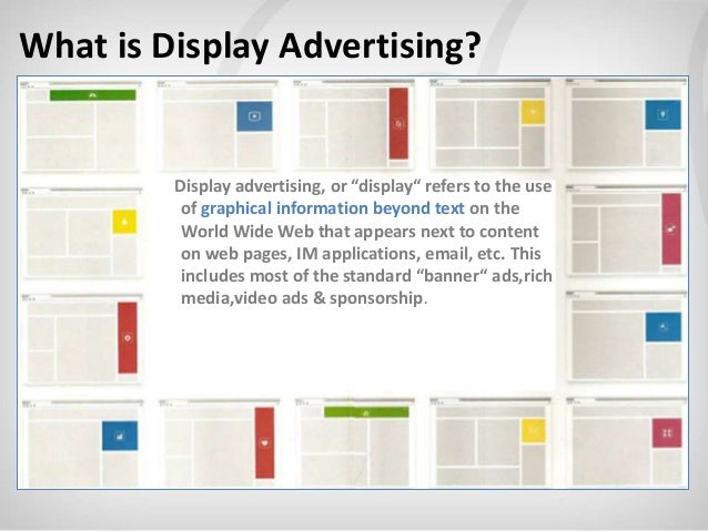 Display advertising 101 – the past, present and future